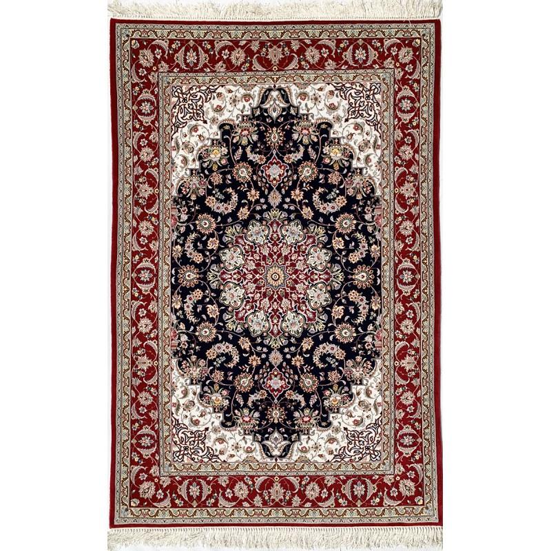 Tappeto persiano Isfahan misura 130x200