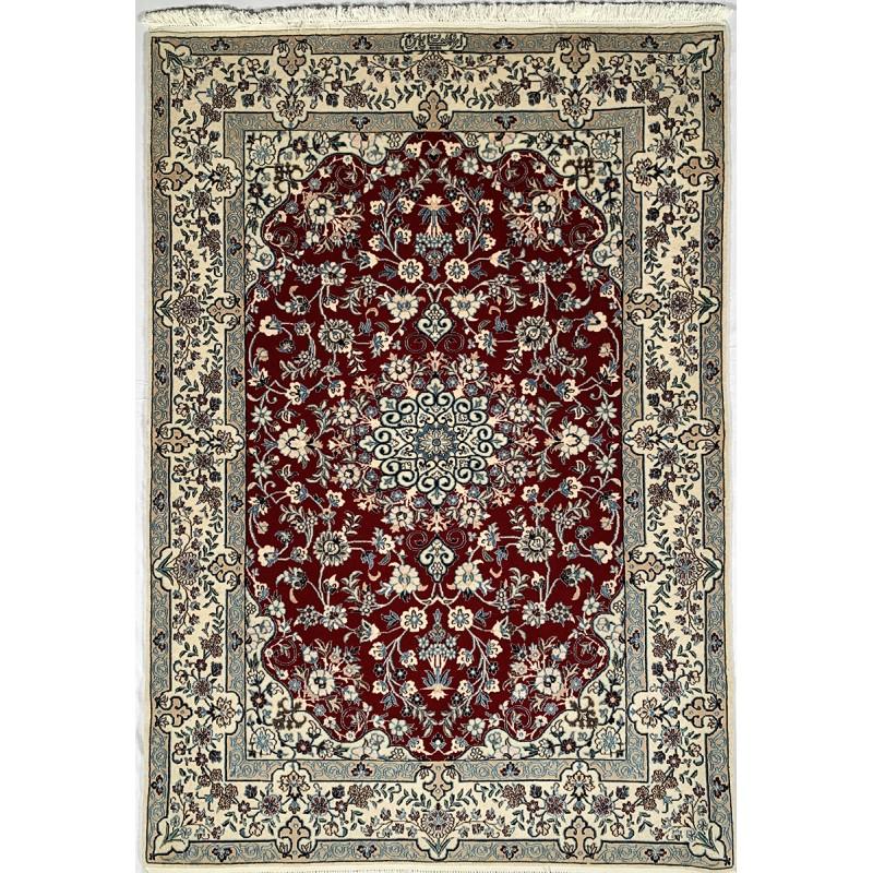 Tappeto persiano Nain 6LA misura 105x148