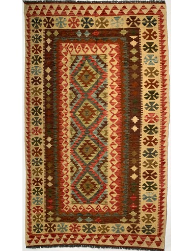 Tappeto Kilim Afgano 121x207